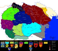 Ethnographic and geographical regions of Romania as Romanians view them Old Maps, Historical Maps, Cartography, Romania, Beautiful Places, History, Country, 1 Decembrie, Geography