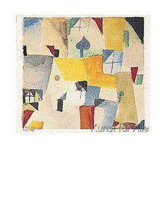 Paul Klee - Fenster