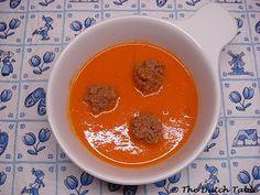 The Dutch Table: Tomatensoep (Dutch Tomato Soup)