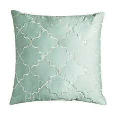"Adream 100% Sateen Cotton Decorative Geometric Embroidered Square Pillowcase ,Pillow Cover,26"" X26"",Green A-Dream http://www.amazon.com/dp/B00ODTQV02/ref=cm_sw_r_pi_dp_SAJ7vb1NGJA0R"