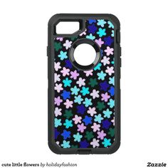 cute little flowers OtterBox defender iPhone 7 case