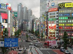Tokio el urbano Shinjuku