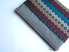 Aztec MacBook 13 sleeve with pockets MacBook Air 13 by CasesLab