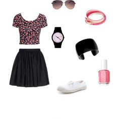 """""""flower time"""" by enjoyfashion22 on Polyvore"""