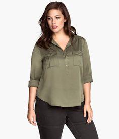 Plus Size Blouse | H&M US