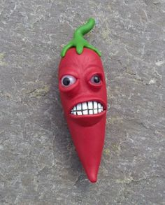 Hot Pepper Chili Pepper Red Hot Chilli Pepper by CreationsByDevlin, $9.50