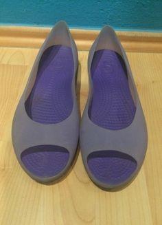Kupuj mé předměty na #vinted http://www.vinted.cz/damske-boty/baleriny/11407910-gumove-crocs-balerinky