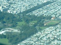 The Haight, The Panhandle, and Golden Gate Park, San Francisco, CA