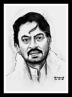 Original Portrait Drawing by Shivkumar Menon Easy Drawings Sketches, Cool Art Drawings, Pencil Art Drawings, Horse Drawings, Drawing Art, Pencil Sketch Portrait, Portrait Sketches, Portrait Ideas, Person Sketch