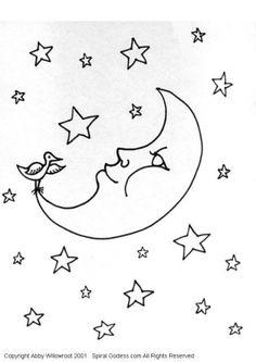 Mi colección de dibujos: Lunas