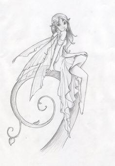 malvorlage fee coloring fairy | fairys | pinterest | ausmalbilder, malbücher und fee