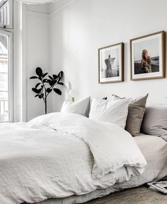 Minimalist Living Room Apartment Pictures minimalist home white wall art.Minimalist Home Living Room Frames minimalist bedroom kids home.Minimalist Bedroom Blue And White. Cozy Bedroom, Dream Bedroom, Home Decor Bedroom, Scandinavian Bedroom, Bedroom Furniture, Zen Bedrooms, Bedroom Bed, Bedroom Neutral, Small Bedroom Decor On A Budget