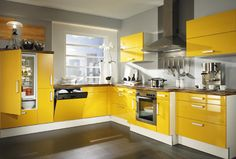 Cuisine jaune deco Clem Around The Corner Home Decor Kitchen, Interior Design Kitchen, Kitchen Furniture, Furniture Stores, Furniture Websites, Cheap Furniture, Yellow Kitchen Cabinets, Kitchen Cabinet Colors, Kitchen Yellow