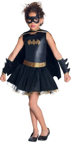 Tutu Batgirl Costume for Girls - Party City