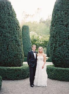 Outdoor Napa Garden Wedding via Once Wed