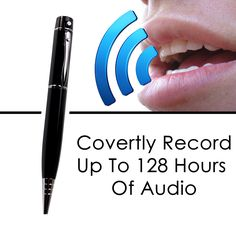 Take Notes, Use As Flash Drive Or MP3 Player And Record 128 Hours Of Everything