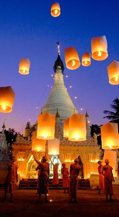 #Lanterns in #Thailand http://en.directrooms.com/hotels/country/1-1/