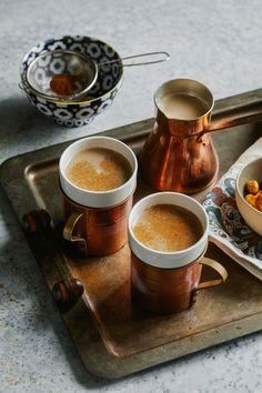 Rachel Beller's Turkish Waker-Upper Coffee | Women of Today Turkish Spices, Spiced Coffee, Coffee Menu, Manuka Honey, Coffee Photography, Turkish Coffee, 2 Ingredients, Spice Things Up, Brewing
