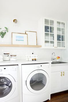 "Check out our web site for additional details on ""laundry room storage ideas diy"". It is actually a superb spot to read more. White Laundry Rooms, Laundry Room Doors, Laundry Room Shelves, Laundry Decor, Laundry Room Organization, Laundry Storage, Laundry Room Design, Storage Organization, Organizing Life"