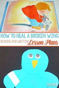 How to Heal a Broken Wing for illustrative studies mentor text. This book is essential in my kindergarten classroom. Students use it as a mentor text. Amazing reading and writing lessons can be gained from this book. Check out these kindergarten lesson pl