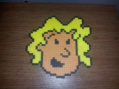 Patty Mayonnaise Doug perler beads by PerlerCrafts