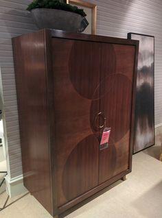 Barbara barry circle armoire