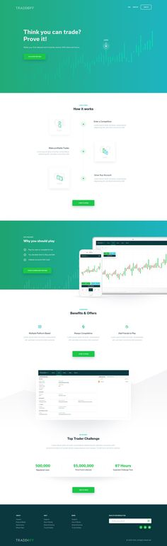 Tradeoff Homepage
