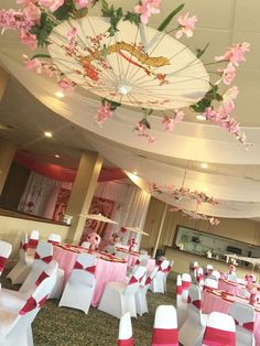 Mulan Cherry Blossom Forest | CatchMyParty.com