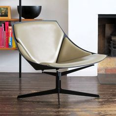 For all you real chair lovers....the JL10 'Space' Lounge Chair by Jehs & Laub for Fritz Hansen.
