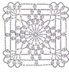 crochet roupas squares - Pesquisa Google