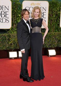 Muñeco de cera Kidman Globos de Oro 2013: continuamos con los grandes vestidos de la noche