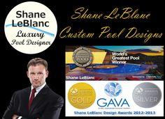 Shane & Shane, Luxury Pools, Custom Pools, Pool Builders, Pool Designs, Design Awards, The Best, Swimming Pools, Entertaining