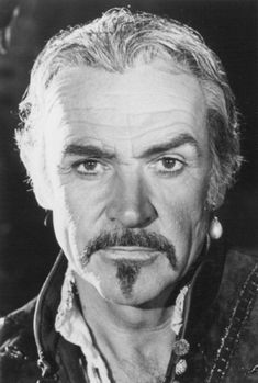 Still of Sean Connery in 'Highlander II: The Quickening'. Photo by Lamb Bear Entertainment Old Bald Man, Scottish Actors, Sean Connery, James Bond, Bearded Men, Einstein, Looks Great, Celebs, Black And White