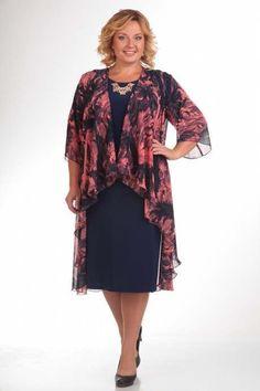 Elegant dresses for obese women of Belarus  #XLFashion  Elegant dresses for obese women Belarusian company Pretty. Fall 2015