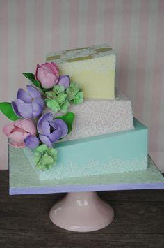 Pastel Wonky Cake