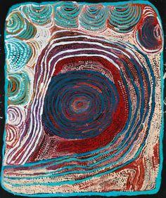 Acrylic on canvas, 148 x 179 cm. Tjarlirli Art - Tjukurla - Western Desert