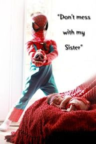 Sibling Photography Superhero Style by Brittany Chacon