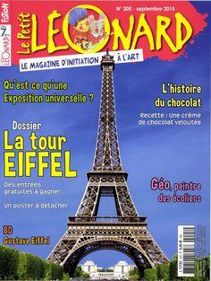 Le Petit Léonard n°205 : La Tour Eiffel; histoire universelle; histoire du chocolat