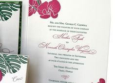 Aloha - Details - Wedding Invitations - Ceci Ready-to-Order Collection - Ceci Wedding - Ceci New York