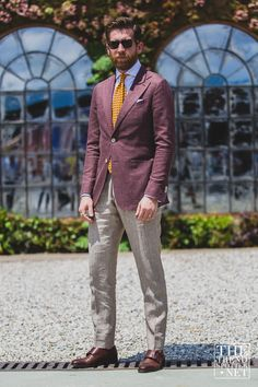 Pitti Uomo Street Style S/S 2016 | Day One
