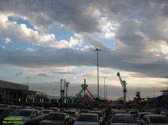 https://flic.kr/p/S6uRBH   Estacionamento   Estacionamento do shopping tem um parque de diversões. São João de Merití-RJ