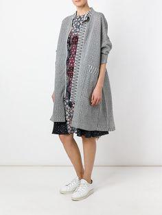 Boboutic knit oversized coat