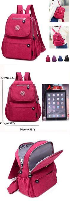 Women Nylon Shoulder Bag Outdoor Picnic Must-have Backpack Rucksack  Rucksack Backpack, Backpack Purse 89797dd8b3