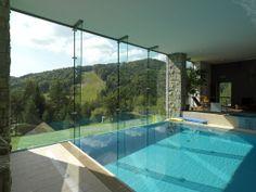 Hotelowa fasada w systemie szklenia strukturalnego Pilkington Planar™ Pilkington Glass, Glass Facades, Hotel Spa, Spas, Architecture, Pools, Poland, Outdoor Decor, Buildings