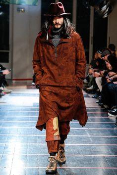 Yohji Yamamoto Paris Menswear Fall-Winter 2014