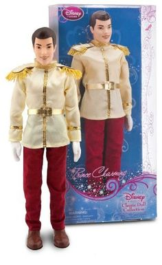 "Prince Charming ~12"" Doll - Disney Princess Classic Doll Collection Cinderella http://www.amazon.co.uk/dp/B00BQ119OS/ref=cm_sw_r_pi_dp_W0Jdvb04WWCC2"