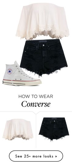 """""""Sans titre #88"""" by yasminh18 on Polyvore featuring Alexander Wang and Converse"""