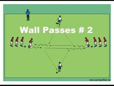 Practice With The Best Passing Drill In Soccer - YouTube