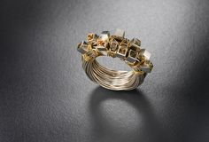jane bowden ring by metalab gallery, via Flickr