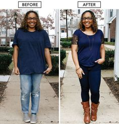 """9 """"Frumpy Mom"""" Style Mistakes — And How to Fix Them! This article has GREAT tips and I love her real-woman figure! Fashion Over 50, Look Fashion, Fashion Beauty, Fashion Outfits, Womens Fashion, Fashion Trends, Mommy Style, Casual Mom Style, Mom Outfits"""